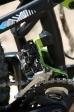 מבחן אופניים corratec 10Hz. העברת כוח 2X10 של שימאנו מסדרת XT. תושבת מוצקה למעביר או שתשדרגו ל-1X11. צילום: תומר פדר