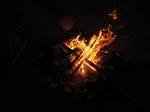 לנחל צבירה עם פולקסווגן אמארוק. לילה מלא כוכבים התחלף בבוקר צונן ובהיר - היה כיף עד שהסלע נשך את שני הצמיגים...צילום: רוני נאק