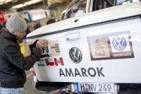 יוצאים לראלי דקאר 2012. פולקסוואגן אמארוק יהיה טנדר הסיוע הרשמי של מירוץ השטח המפרךץ צילום: VW
