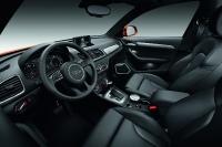 אודי Q3 חדשה. הפנים של ה-Q3 החדש הוא AUDI טיפוסי, גרסת האיבזור הבכירה מציעה המון מיתוג לשחק בו. צילום: AUDI AG