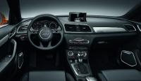 מבחן דרכים אודי Q3. גרסת לקצ'רי של רכב הפנאי הקטן מאודי מכילה בתוכו את המופע המלא של דגמי אודי הבכירים. והמחיר בהתאם. צילום: פז בר