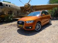 מבחן דרכים אודי Q3. מטוס צרפתי עם מנוע אנגלי, מכונית גרמניה מיצור ספרדי - האודי Q3 מיוצרת במפעלי סיאט ליד ברצלונה (וזה לא בהכרח דבר רע! אה?)צילום: פז בר