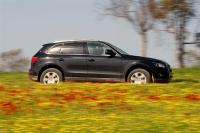 אודי Q5 דיזל במבחן שטח. צללית מוכרת של רכב פנאי צילום: פז בר