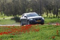 אודי Q5 דיזל במבחן שטח. רכב הפנאי של אודי מרגיש בנוח על דרכי עפר צילום: פז בר