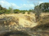 """טיול שטח סינגל בארי. מסלול לאופני הרים בסינגל בארי. בין מכרות גופרית, לימח\""""ים עתיקים ואתגרי רכיבה. צילום: רוני נאק"""