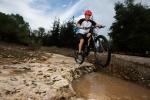 מבחן אופניים ברגמונט קונטרייל 8.0. ארוכים, יציבים, אך קלים מספיק לשעשועים. צילום: תומר פדר