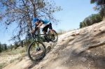 מבחן אופניים ברגמונט קונטרייל LTD. היכולת של גלגלי 29 החלוף מעל מכשולים היא דבר ידוע - האופניים האלו מעצימים אותה. צילום: תומר פדר
