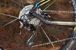 מבחן אופניים ברגמונט קונטרייל LTD. קסטה של 10 הילוכים עם יסחי העברה קרובים. מעביר שימאנו XT שאדואו ללא מצמד - כזה 2013... צילום: תומר פדר