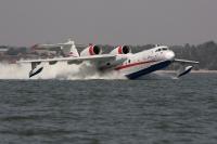 מטוס הכיבוי הרוסי. הברייב BE200 עשוי להיות כלי הטיס הרוסי הראשון בחיל האוויר צילום יצרן