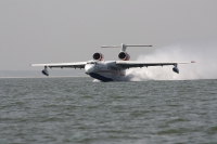 מטוס הכיבוי הרוסי. הברייב BE200 ישא 12 טונות של מים אשר יתמלאו בבטנו ב-12 שניות צילום יצרן