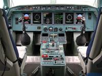 מטוס הכיבוי הרוסי. הברייב BE200 מצויד בתא טייס מודרני. במפתיע הוא מוטס באמצעות