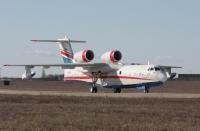 מטוס הכיבוי הרוסי. הברייב BE200 הוא אמפיבי מלא ומסוגל לפעול גם ממסלולים רגילים. גרסאות אחרות קיימות ל-72 נוסעים או מטען צילום יצרן