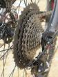 מבחן אופניים מרידה ביג טרייל 800. לקסטת ההילוכים האחורית 11 גלגלי שניים. נאבת BOOST רחבה אוחזת מוצק בהכל צילום: רוני נאק