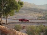 טיול שטח לרכס חתירה, מעלה אברהם, המכתש הגדול וחולות צבעוניים. כל זה עם מיצובישי טריטון אדום. צילום: רוני נאק