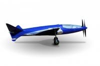 """מטוס בוגאטי 100P משוחזר יעלה בקרוב לאוויר. 885 קמ""""ש בזכות תכנון אירודינאמי מתקדם, שני מנועים ושליטה ממוחשבת בסוף שנות ה-30. צילום: MULLIN MUSEUM"""