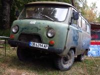 ראלי ברסלאו - רכבי השטח שאתם לא תראו במקום אחר! GAZ-69 המוכן לצאת ערוך לקרב, במלחמה הקרה נגד הקפיטליזם האמריקני צילום: רמי גלבוע
