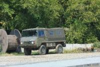 ראלי ברסלאו בולגריה - רכב מבצעי שעבר איזרוח. שימו לב למתלים הנפרדים ולסרנים הפורטאליים - מעניין איך היה מטפל במעלה דקלים? צילום: רמי גלבוע