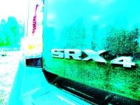 קאדילק SRX במבחן שטח. יש גם אומנות בשטח צילום: פז בר