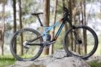 """מבחן אופניים cannondale trigger 4. עם גוון """"כחול אנדורו"""" וגישה אגרסיבית לחיים אפשר מאד ליהנות מהאופניים האלו. צילום: תומר פדר"""