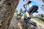 """מבחן אופניים cannondale trigger 4. עם 130 מ""""מ של מהלך וגלגלי 29 אינץ' אפשר להתגלגל מעבר למכשולים בקלילות. צילום: תומר פדר"""