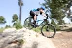 """Cannondale מבחן אופניים cannondale trigger 4. עם 130 מ""""מ של מהלך וגלגלי 29 אינץ' אפשר להתגלגל מעבר למכשולים בקלילות. צילום: תומר פדר 4 29"""""""