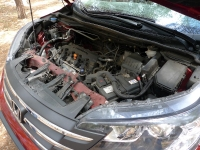 מבחן רכב הונדה CR-V. חזק יותר מזהם פחות.
