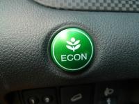 מבחן רכב הונדה CR-V. נכון - הכפתור הזה מאד חשוב עכשיו ואנו תמיד בעד עלים ירוקים אבל לחיצה עליו מסרסת את CRV לגמרי. צילום: פז בר