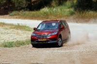 מבחן רכב הונדה CR-V. נוח בשביל, מערכת הנעה יעילה ובקרת היציבות לא היסטרית מדי. צילום: פז בר