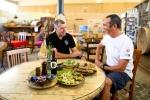 שטח שף - הדסער. בדרם לדרום העמוק עם דאצ'יה דאסטר עצרנו ליהנות מהמטבח האורגני המעולה במתחם הדסער שבמצפה רמון. צילום: תומר פדר