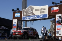 DAKAR RALLY ARGENTINA-CHILE