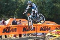 אליפות ישראל בדאון היל ק.ט.מ - צילומים ממירוץ האופניים הראשון ביעד. קפיצה מול קהל צילום: תומר פדר