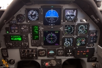 מטוס עפרוני מציג קוקפיט מודרני ומערכת TCAS המזהה קרבה מסוכנת בין כלי טיס באוויר. צילום תומר פדר