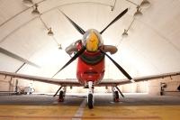 מטוס העפרוני מצויד במנוע טורפו-פרופ ג\'נרי ואמין המפיק כ-1000 כוחות סוס צילום: תומר פדר