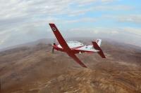 מטוס העפרוני תוכנן שהיה בעל תכונות טיסה כשל מטוס קרב. בעלות הפעלה קטנה הרבה יותר צילום: דו
