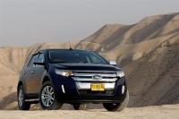 פורד אדג\' 2011 במבחן שטח. אור אחרון במדבר יהודה - ההנעה הכפולה הביאה אותנו לשם אבל יכולות השטח מוגבלות מאד צילום פז בר