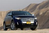 פורד אדג\' 2011 במבחן שטח. אור אחרון במדבר יהודה - מראה יפה של החזית החדשה צילום פז בר