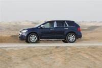 פורד אדג\' 2011 במבחן שטח. צדודית מוכרת ונוחות נסיעה טובה - גם בכיוון הזה צילום פז בר