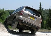 מבחן רכב סובארו פורסטר טורבו. האם זה הקרוסאובר הטוב בישראל? עם יכולת לשנות פנים ואופי, משרעת יכולת רחבה מאד, ואיכות כוללת מצויינת - יש סיכוי גבוה שכן - גם המחיר גבוה 265 אלפי שקלים. צילום: רוני נאק