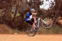מבחן אופניים Ghost ASX4900. אופני כניסה עם שיכוך מלא. מעט כבדים להרמה - הרבה הילוכים לבחור מהם. צילום: רמי גלבוע
