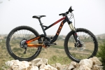מבחן אופניים gt force exper. יפים לא? צינורות אלומיניום הידרופורמינג, גרפיקה ובחירת צבעים נאה וביצוע איכותי. צילום: תומר פדר
