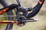 מבחן אופניים gt force exper. סידור ההילוכים הוא 1X10, עם יחסי העברה קצרים יחסית אשר יאפשרו לכם לדווש בחזרה לראש המעלה. צילום: תומר פדר