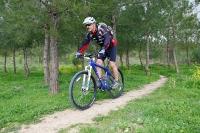 מבחן אופניים GT KARAKORAM. לחם וחמאה - זו התמונה המנטאלית הנכונה. סינגל מהודק ומהיר - כאן ה-KARAKORAM יצטיינו. צילום: פז בר