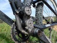אופני הרים במבחן שטח. GT sensor 9r expert. מתלה iDrive הגיע לבשלות יפה בדגם הזה צילום: פז בר