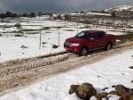 מסע בשלג של רמת הגולן עם טויוטה היילקס. צילום: רוני נאק