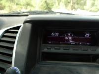 מיצובישי האנטר משופר גתוס במבחן דרכים. גרסת דקאר של המיצוביש האנטר כוללת מחשב דרך שימושי. צילום: פז בר