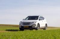 מבחן דרכים יונדאי סנטה פה 2013. יונדאי חוזרת לשטח עם דגם חדש לרכב הפנאי. סנטה פה. צילום: פז בר