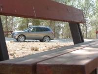 יונדאי סנטה פה 2012 במבחן שטח. השטח עושה לה טוב. הצללית המוכרת של היונדאי סנטה פה עשוי להתחדש כבר בשנה הבאה. צילום: פז בר