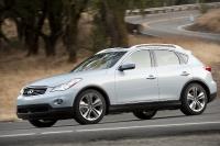 אינפיניטי EX במבצע מכירות לחיסול דגמי EX 2011. רכב פנאי פרימיום במחיר מוזל צילום: infiniti