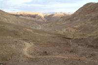 שביל ישראל על אופניים. שביל עקלתוני בשטח עם נוף דרומי ראוי צילום באדיבות הלל זוסמן