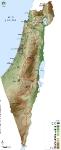 שביל ישראל על אופניים. מפת הפרוייקט מראה כיצד הגיעו לתוואי של 1200 קילומטרים כמעט כולם בשטח צילום באדיבות הלל זוסמן